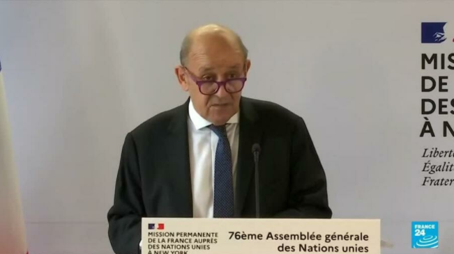 France's Le Drian asks Europeans to