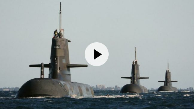 France seeks EU support in submarine row with US, UK, Australia